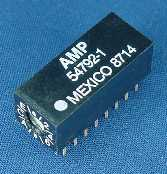 AMP hexadecimal (16-position) rotary DIP switch, #54792-1