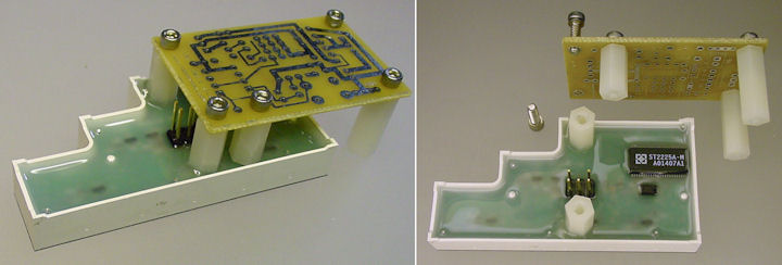 PCB acting as a fixture for attaching hex standoffs with epoxy