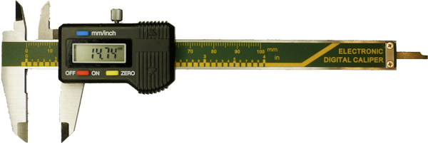 Inexpensive imported digital caliper