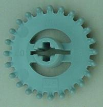 Left-most crown gear