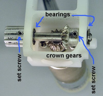 Right-angle drive assembly.
