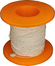 3D printed spool with wire