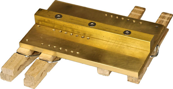 Bottom of base to be held by vise