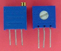 Multiturn potentiometer vs. single turn