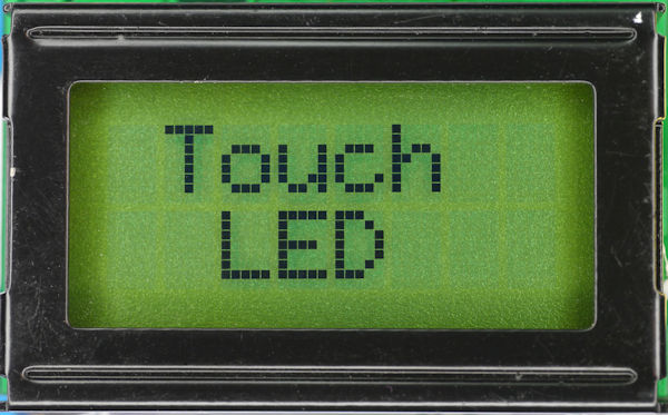 LCD Display Touch LED
