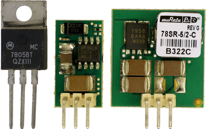 7805 versus 7805SR and 78SR-5/2-C