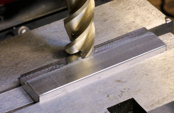 Milling a recessed flat
