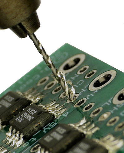 How to Remove Solder from a Circuit Board Hole - Robot Room