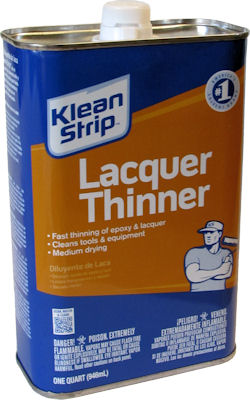 Klean Strip Lacquer Thinner