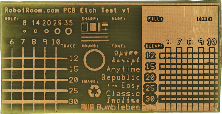 Nicely etched PCB using toner transfer method
