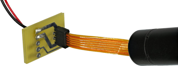 Maxon motor adapter from 1 mm pitch flex cable