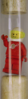 Lego astronaut payload
