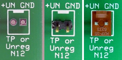 Three choices for N12 on the motherboard: Ignore, add a two-pin header, or add a Molex connector.