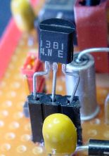 Panasonic 1381 voltage detector in a socket